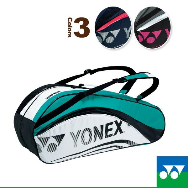 ラケットバッグ6/リュック付/テニス6本用(BAG1612R)