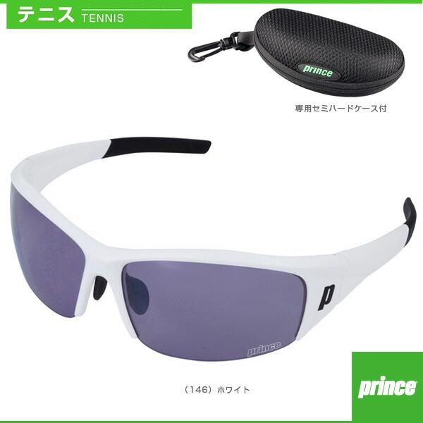 プレミアムコントラスト レンズ付きサングラス/専用セミハードケース付/ホワイト(PSU330)