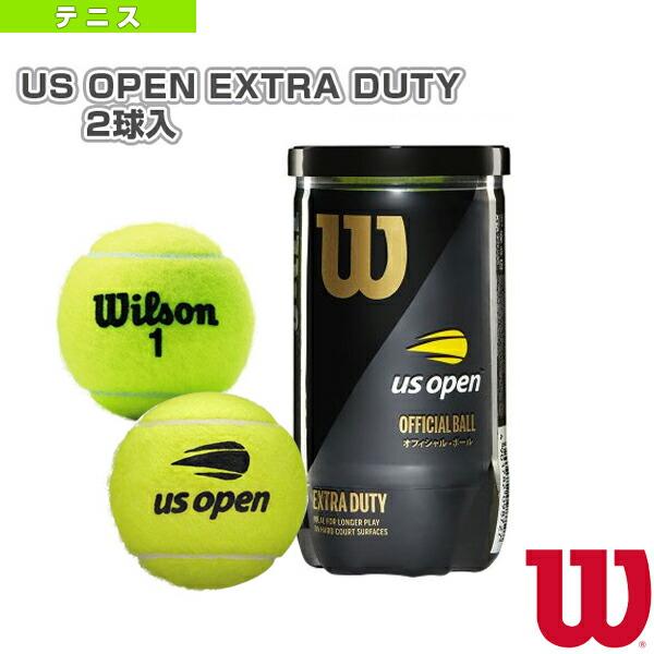 US OPEN EXTRA DUTY 2球入(エクストラデューティ)『缶単位(1缶/2球)』(WRT1000J)