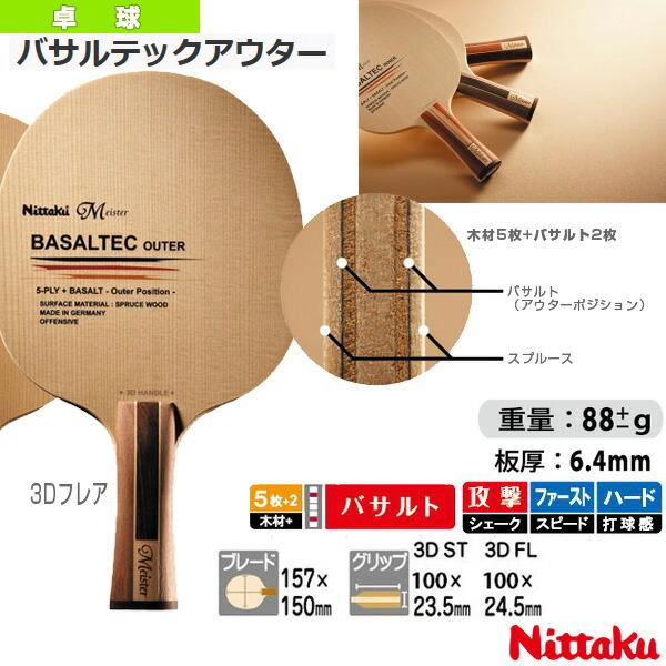バサルテックアウター/BASALTEC OUTER/3Dフレア(NC-0379)