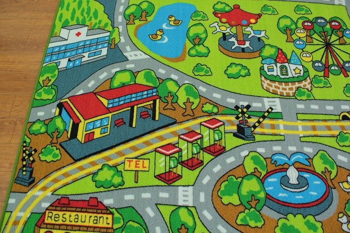 Ragmatst Rakuten Global Market In The Childrens Room Rugs - Town map for kids
