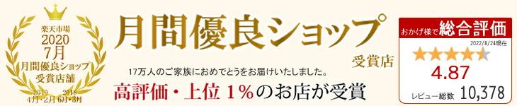 楽天公式 月間優良ショップ受賞店