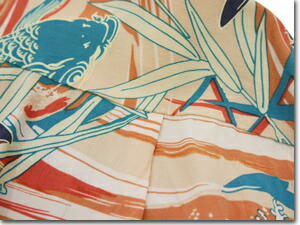 SS38581 「CARP」 RAYON HAWAIIAN SHIRT