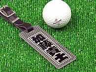ゴルフバッグ用ネームタグ
