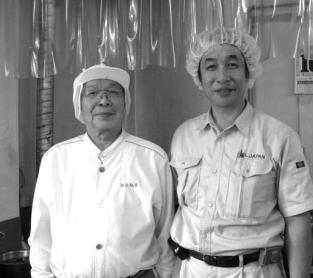 店長と岩井氏