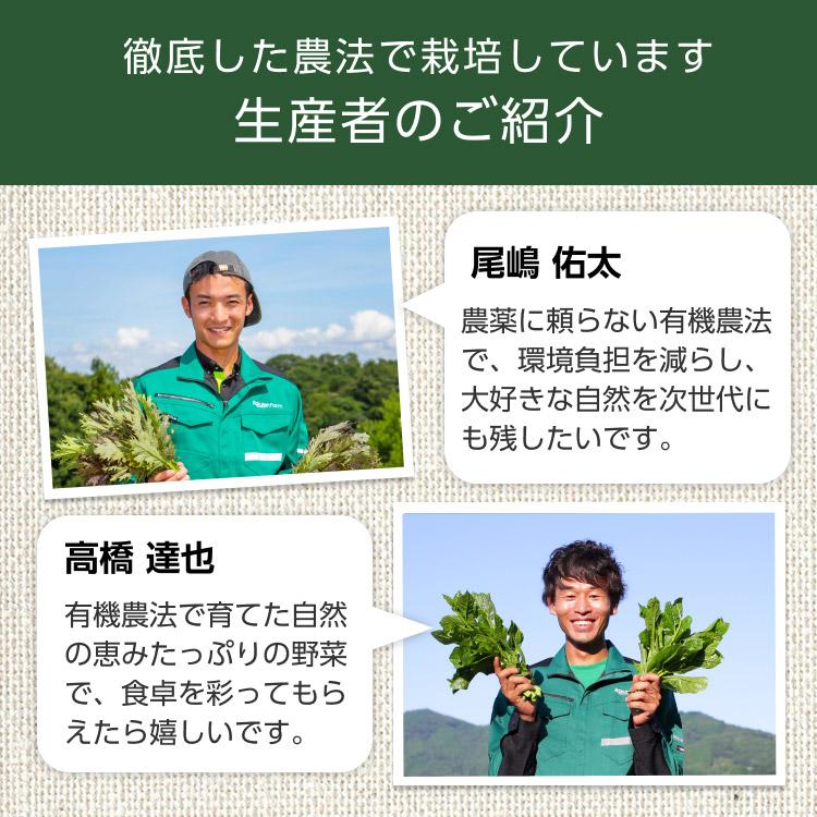 徹底した農法で栽培しています 生産者のご紹介