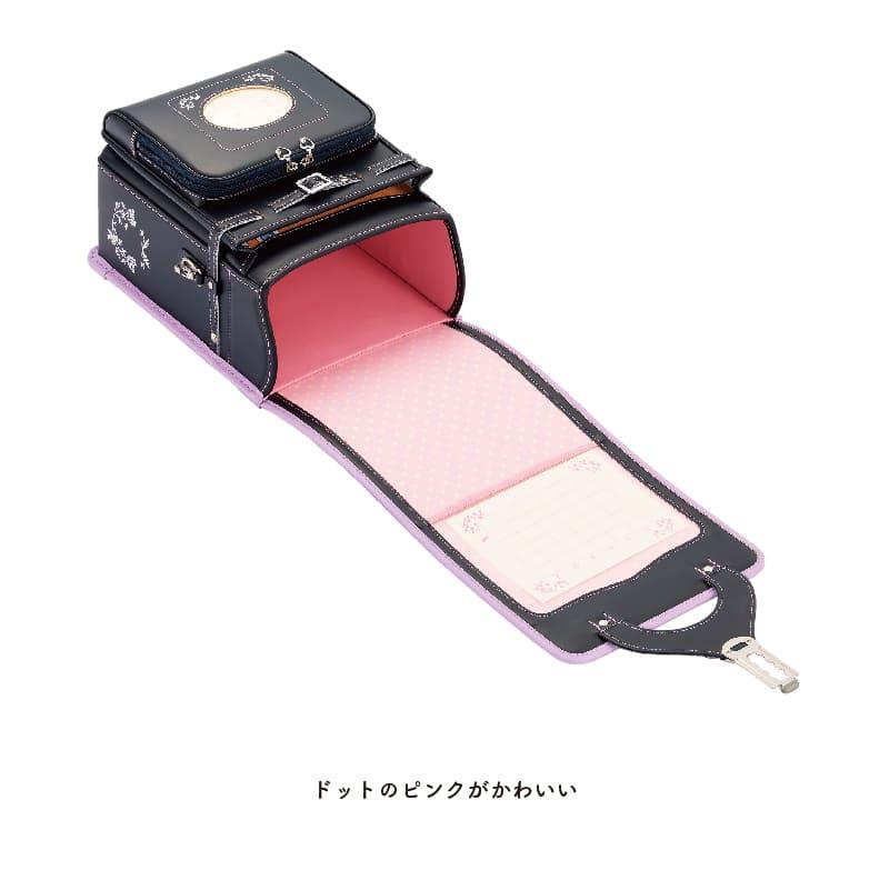 ドットのピンクがかわいい