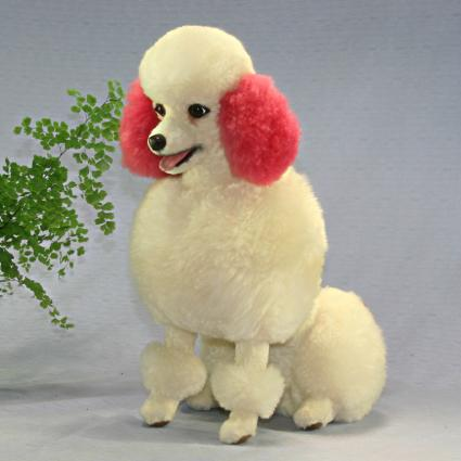 Ranran Poodle Dogs And Stuffed Poodle Plush Oversized World In