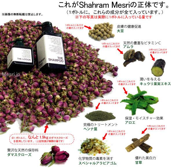 天然成分「Shahram Mesri(シャハラン メスリ)」製品からは種が発芽し育ちます。