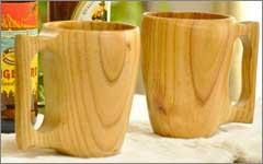マグカップ 木製 コップ
