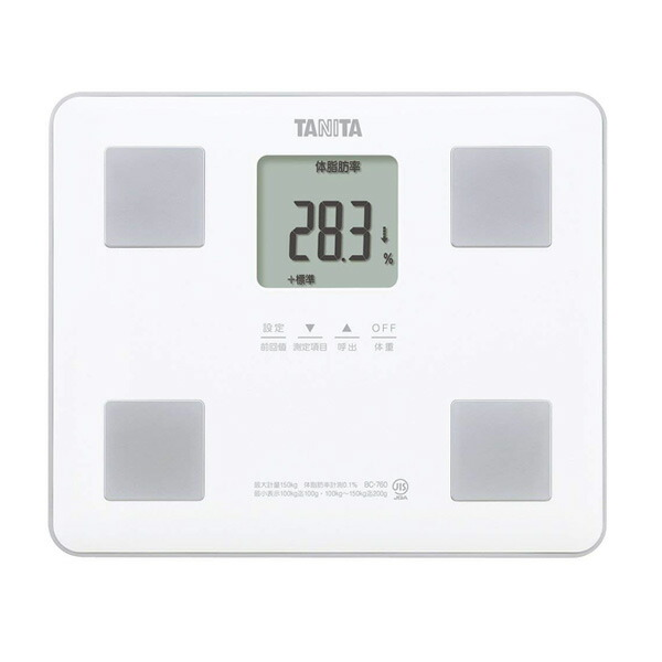 タニタ体組成計BC-760