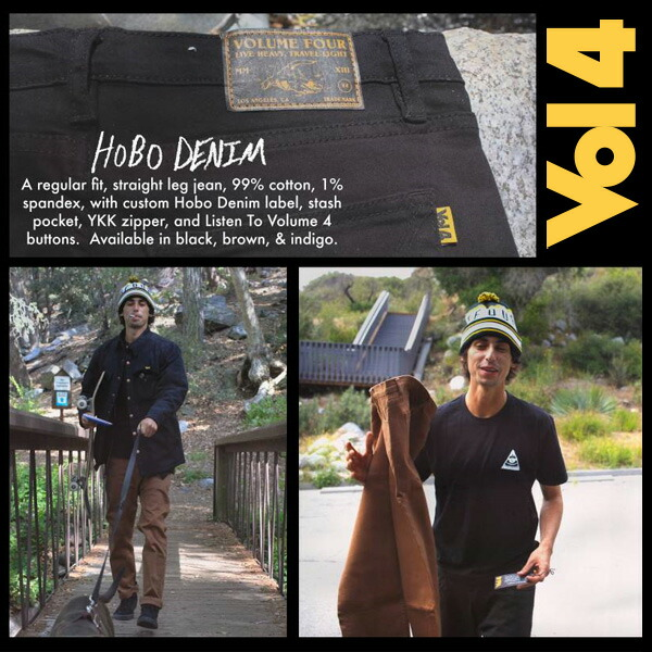 VOL4 HOBO DENIM