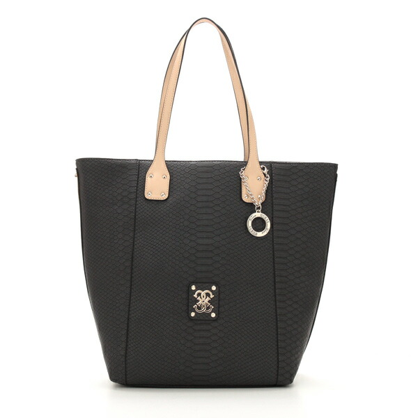 62a027ac1a04 ゲス GUESS トートバッグ PG465824 MELLIE N/S TOTE BLACK BK【ポイント10倍】