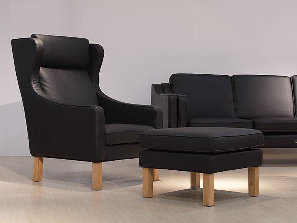 ウイングバックチェア Wingback Chair ボーエ・モーエンセン Borge Mogensen