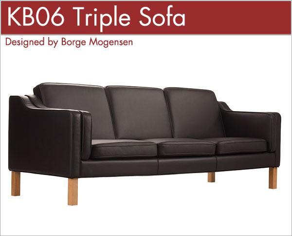 KB06 トリプルソファ KB06 Triple Sofa ボーエ・モーエンセン Borge Mogensen