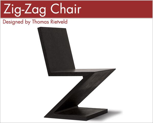 ジグザグチェア Thomas Rietveld Zig-Zag Chair トーマス・リートフェルト