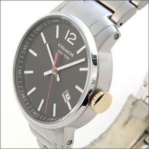 コーチ 上品でシンプルなフォルム。大人カジュアルなメンズ腕時計 14601522