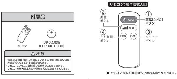 【楽天市場】ユアサ リモコン式サーキュレーター YCL-15VFR(WPG ...