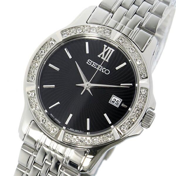 58f9e7453e17 セイコー SEIKO クオーツ レディース 時計 ウォッチ ブラック 日本が世界に誇る時計ブランドSEIKO(セイコー)はブランドテーマに「革新と洗練」を掲げるリーディング  ...