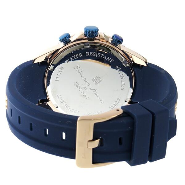 e068f64b2c サルバトーレマーラ クロノ クオーツ メンズ 腕時計 時計 SM17112-PGBL ...
