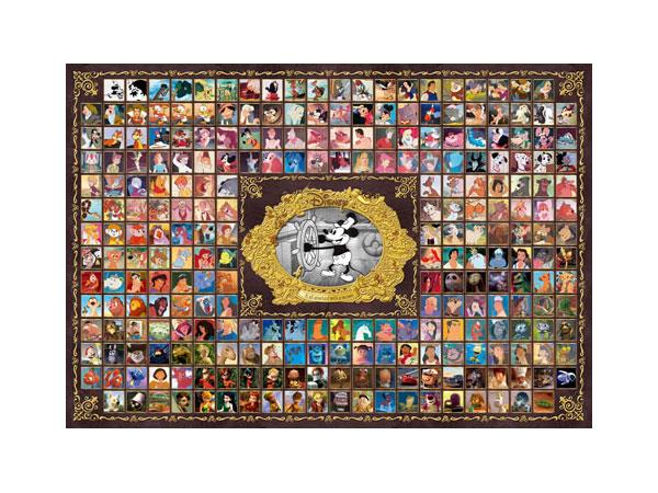 ジグソーパズルディズニー&ピクサーキャラクターコレクションD,1000,383【3%OFF】