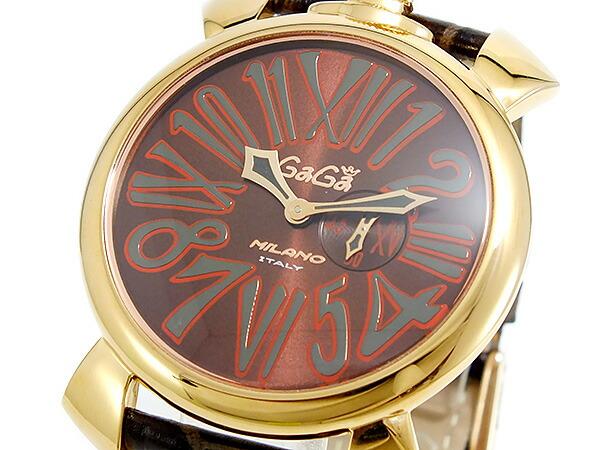 new concept 6fbf8 eabbe ガガミラノ GAGA MILANO SLIM クオーツ ユニセックス 腕時計 ...
