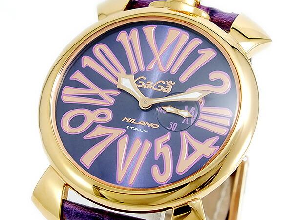 new concept 00c55 43331 ガガミラノ GAGA MILANO SLIM クオーツ ユニセックス 腕時計 ...