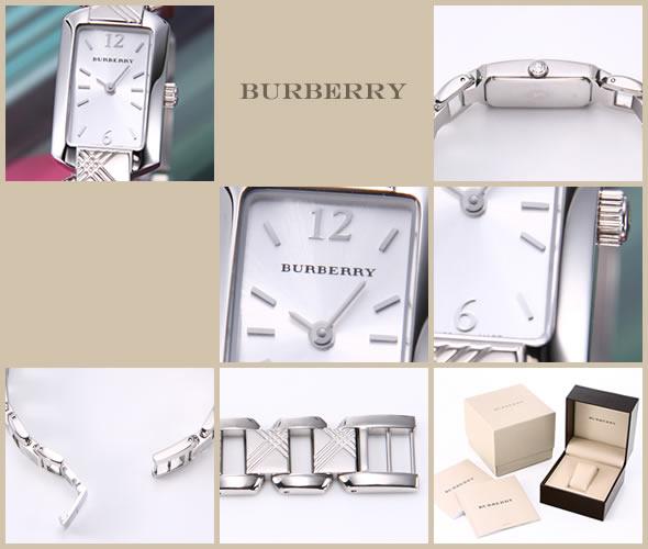 バーバリー 腕時計 シルバー ブレスウォッチ レディス BU4211