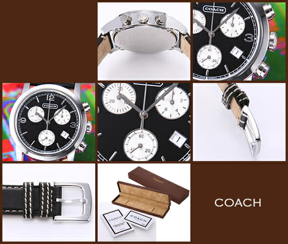 【COACH】コーチ BREECER CHRONOGRAPH(ブリーカークロノグラフ)14600950