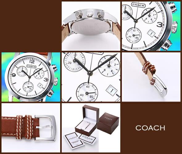 【COACH】コーチ BREECER CHRONOGRAPH(ブリーカークロノグラフ)14600951