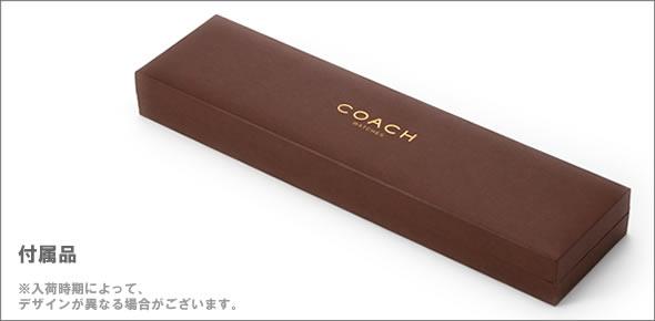 【COACH】コーチ レディス 腕時計 レザーストラップ・ウオッチ 14500006
