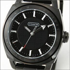 df2ab1940581 【COACH】コーチ メンズ 腕時計 Varick (ヴァリック) オールブラック ブレスウオッチ 14600978 ...