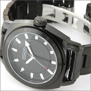 180db8b6a3e8 ... 【COACH】コーチ メンズ 腕時計 Varick (ヴァリック) オールブラック ブレスウオッチ 14600978