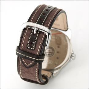 【COACH】コーチ メンズ 腕時計 クラシック シグネチャー レザーストラップ・ウオッチ 14601089