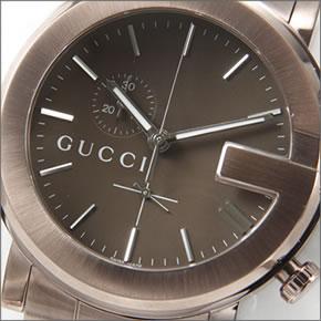 【GUCCI】グッチ メンズ 腕時計 【新作】 G-Chrono (G-クロノ)コレクション G-クロノ YA101 エクストララージ・クロノグラフ ブラウンPVD YA101341