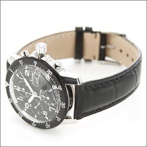 【Sinn】ジン メンズ 腕時計 クロノグラフ レザーストラップ オートマチック 103.B.AUTO
