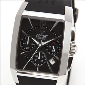 【VICEROY】バーセロイ メンズ 腕時計 日本限定モデル「バーセロイ日本初上陸記念」 クロノグラフ ラバーストラップウォッチ 47411-55