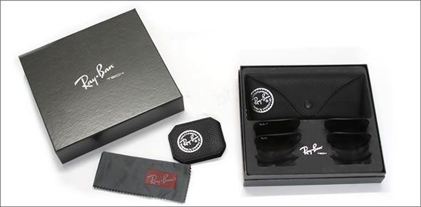 レイバン サングラス RB3460 002/71(並行輸入品) 替えレンズ 2枚セット付き