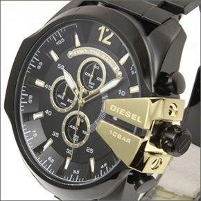 ディーゼル  メンズ 腕時計 人気のデカ系クロノグラフウオッチ 3Time表示 DZ4338