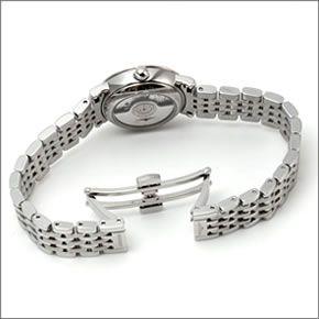 ロンジン クラシカルでしなやか☆12粒のダイヤの輝き「エレガントコレクション」レディス・オートマチック腕時計 L4.309.4.87.6