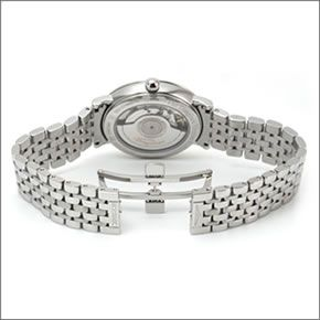 ロンジン クラシカルでしなやか☆13粒のダイヤの輝き「エレガントコレクション」メンズ・オートマチック腕時計 L4.810.4.77.6