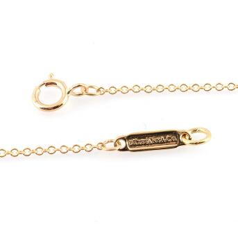 ティファニー Tiffany&CO 33285981 1837 サークル ペンダント ダイアモンド 16in 18KYG ネックレス