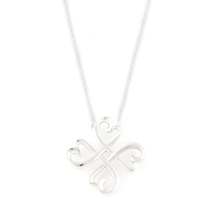 ティファニー Tiffany&CO 33914679 パロマ・ピカソ ラッキー ラビング ハート ペンダント 18in スターリングシルバー ネックレス