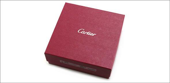 カルティエ L5000335 ロゴ刻印入り リバーシブル メンズ レザー ベルト サイズ調整カット可能