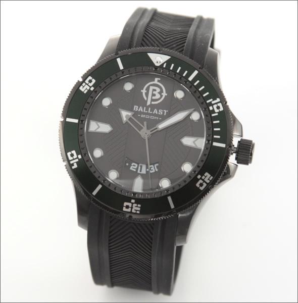 バラスト VANGUARD (ヴァンガード) シンプル&タフ、メンズ・ダイバーズウオッチ BL-3114-OB