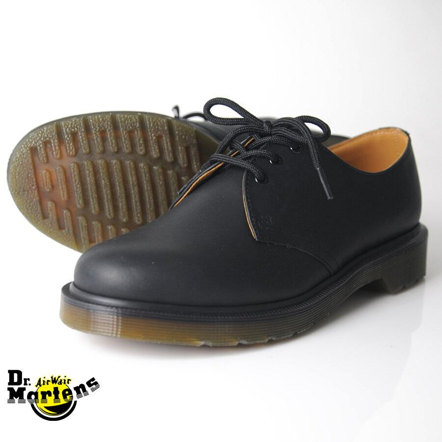 Dr Martens Classic Black Service Shoes