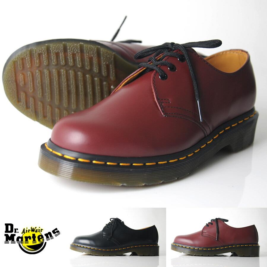 Dr Martens Ladies Shoes Black Color