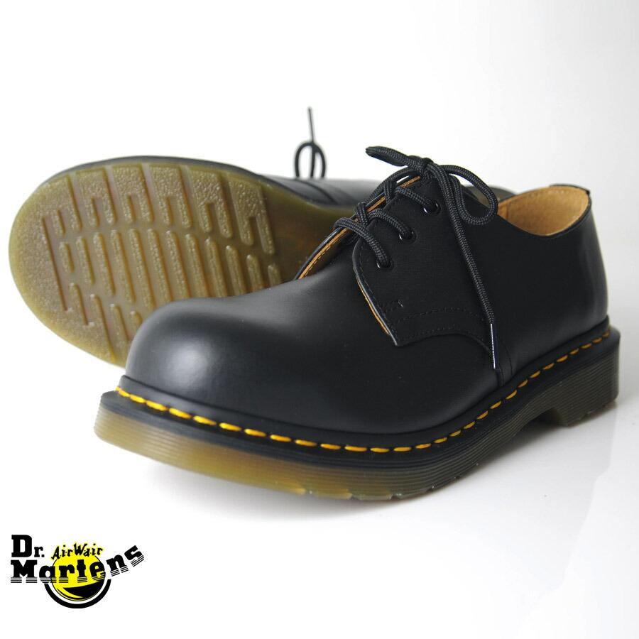 Dr Martens Black Leather Shoes
