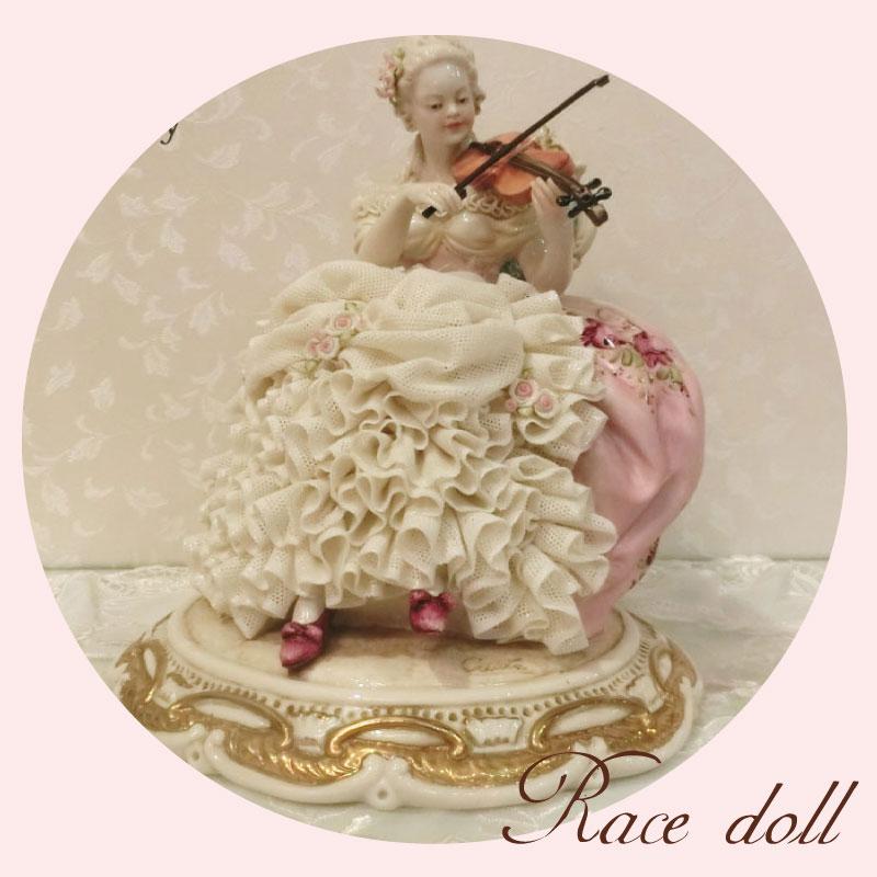 イタリア製 レース人形 レースドール