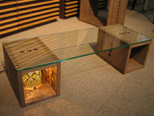 Re-Lshopリエルショップ/Vine ヴァインガラストップローテーブル
